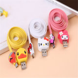 Super Cute Cartoon USB Line para celular