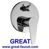 Sola palanca encubierta de 3 vías baño / ducha grifo (gl9325a93)
