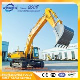 China Sdlg 40t E6400LG f6400e de la excavadora hidráulica con fuerte poder