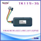 艦隊管理Tk119-3Gのための機密保護を保つ防水3G GPS車の追跡者