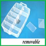 10 Boîte de rangement en plastique utile de grille