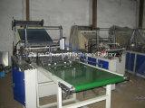 Vier-Zeile Plastiktasche, die Maschine mit Selbstbandförderer herstellt