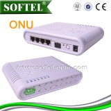 Fttth 4fe+2pots+WiFi Epon ONU
