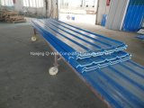 El material para techos acanalado del color de la fibra de vidrio del panel de FRP artesona W172087
