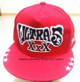 Casquillo de encargo de encargo de la manera del bordado del sombrero de Hip-Hop
