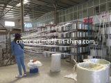Constructeur nomade de fibre discontinue tissé par fibre de verre/fibres de verre