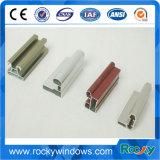 Perfil de aluminio con recubrimiento de alimentación de color gris
