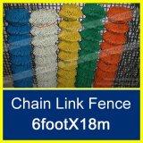 50mmx50мм оцинкованной звено цепи забора/PVC звено цепи ограждения