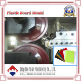 Feuille de plastique PVC avec certification CE de la machine de l'extrudeuse
