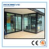 Раздвижная дверь двойной застеклять Roomeye алюминиевая в сверхмощных системах