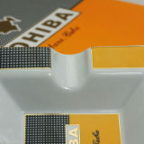 Portacenere di ceramica del sigaro della grande porcellana classica di Cohiba (ES-EB-128)
