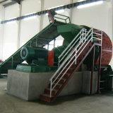 máquina de reciclagem de Pneus Resíduos totalmente automático com triturador de Pneu