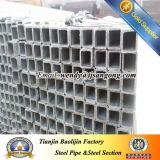 câmara de ar/tubulação de aço quadradas pre galvanizadas de 30*30*1.0mm