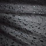 Van Nappa het Donkere Zwarte Kunstmatige Pu Faux Leer van de Korrel voor Kledingstuk