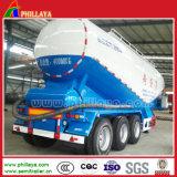 Factory Supply 3 Eixos Cisterna de cimento em granel para Semi-reboque