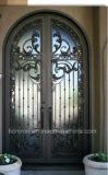 특유한 손 위조된 철 등록 문 정문 디자인