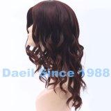 Jewish Wig de señora con el pelo humano chino superior de seda