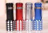 Плоский факел мини-батареи типа AAA лампы Суперяркий светодиод правой петли фонарик