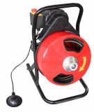 Hongli trommelartiges Schlange-Bohrgerät-Abfluss-Stangenbohrer-Reinigungsmittel-elektrische Abfluss-Reinigung (D300F)