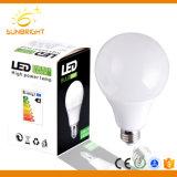 Светодиод пластмассовую крышку алюминия A60 7W E27 глобальной лампу