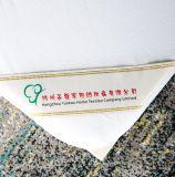 優れた白く明白なベッドバグの証拠90GSMの綿のジャージーの防水マットレスパッド