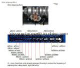 Dénudage de câbles de mise au rebut le racleur (machine de recyclage de Peeling 918WS)