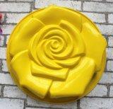 Moulage de traitement au four de gâteau de forme de Rose de silicones de catégorie comestible