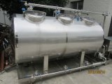 Semi автоматическое оборудование шайбы нержавеющей стали 1000L/H CIP используемое для завода молокозавода