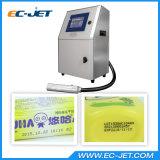 Kontinuierliches Tintenstrahl-Drucker-Markierungs-Verfalldatum für Kosmetik (EC-JET1000)