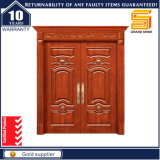 Feuer-Nennaußeneintrag-feste hölzerne Eingangs-Bauholz-Tür