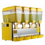 Erogatore di vetro commerciale della bevanda del succo di frutta