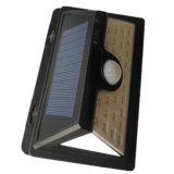 34LED 무선 방수 운동 측정기 태양 LED 옥외 벽 빛