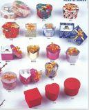 De hoogwaardige Doos van de Juwelen van de Cake Plastic