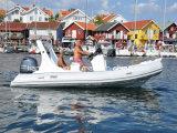 Barca gonfiabile rigida Workboats poco costoso della guardia costiera di Liya 19FT da vendere