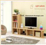 Preiswerter hölzerner Fernsehapparat-Standplatz-/Modern LED Fernsehapparat-Standplatz