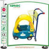 Kiddie Chariot de supermarché avec poussette de bébé