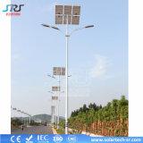 Cer RoHS im Freien doppelte straßenlaterne-Beleuchtung des Arm-LED Solar