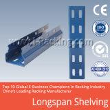 Meio de armazenamento de depósito provisório Longspan trasfega e estantes