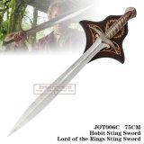 プラク75cm Jot006cが付いているHobbitの刺し傷の剣