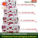 Caixa de bolo quadrada Caixa de alimentar com Janela Antifogging (K85)