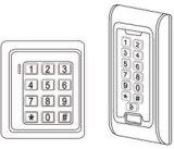 Nuevo programa de lectura impermeable del telclado numérico W26 Wiegand del control de acceso de la tarjeta de la proximidad