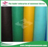 Calidad superior coloreada de la tela de los PP de la fuente directa no tejida de la fábrica en Rolls