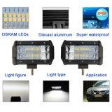 Selbst-Jeep-heller Stab des LED-Scheinwerfer-12V 24V 72W