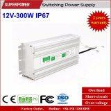 LED 운전사 일정한 전압 12V 300W LED 방수 엇바꾸기 전력 공급 IP67