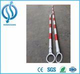 2meter e barra ritrattabile di lunghezza del cono dei 3 tester