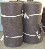 Le bâti gris grand de couleur renvoie la garniture de matelas effilochée