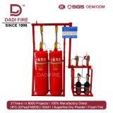 120L sistema de supresión de fuego de gas de la alta calidad 5.6MPa FM200 Hfc-227ea