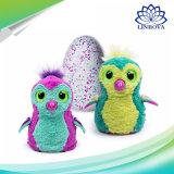 創造的な工夫卵のおもちゃは子供の恐竜の卵の対話型の素晴らしい工夫卵をからかう