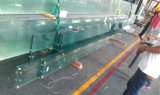 Prueba de balas Pec las aletas de vidrio templado vidrio laminado de techo de cristal de construcción