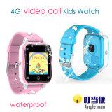 4G imprägniern Kinder GPS-Verfolger-Uhr-Handy